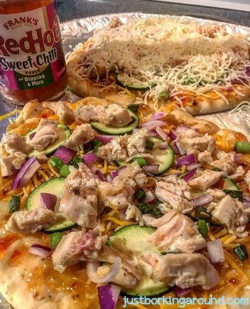 chicken-thai-pizza