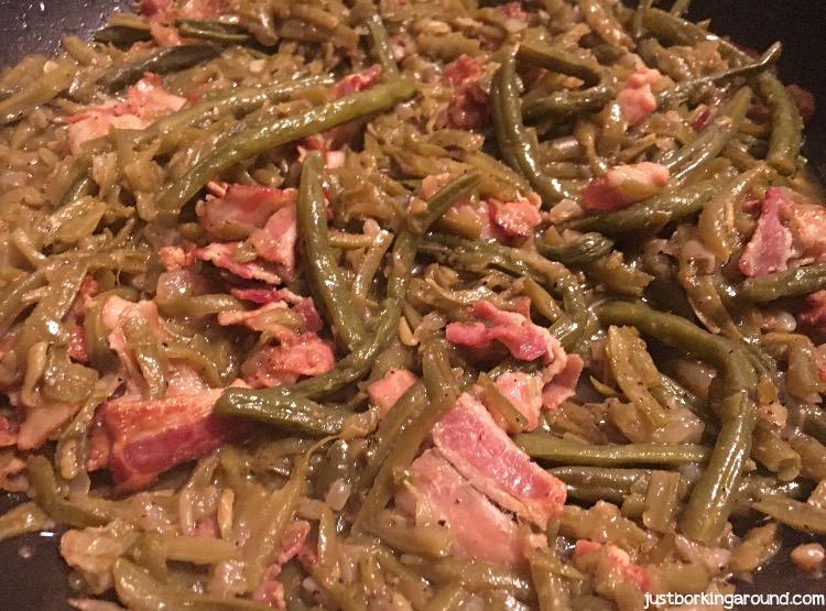 Cajun Smothered Green Beans
