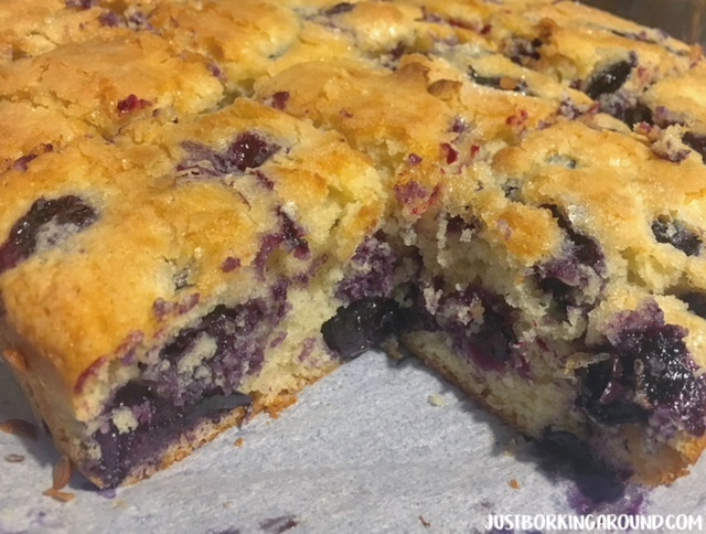 Buttermilk Blueberry Cake